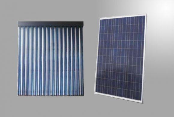 impianto solare e fotovoltaico