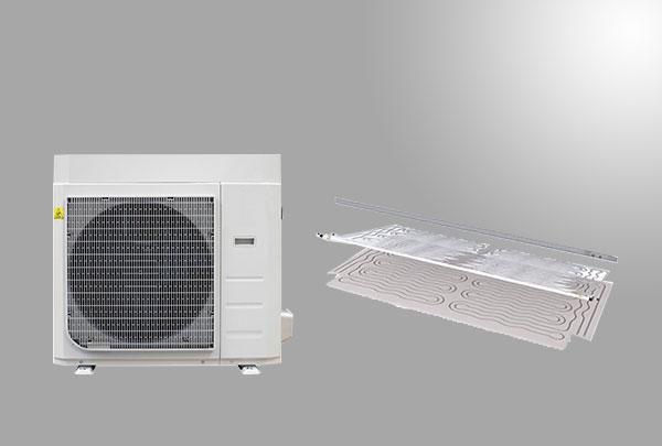 radiante pompe di calore