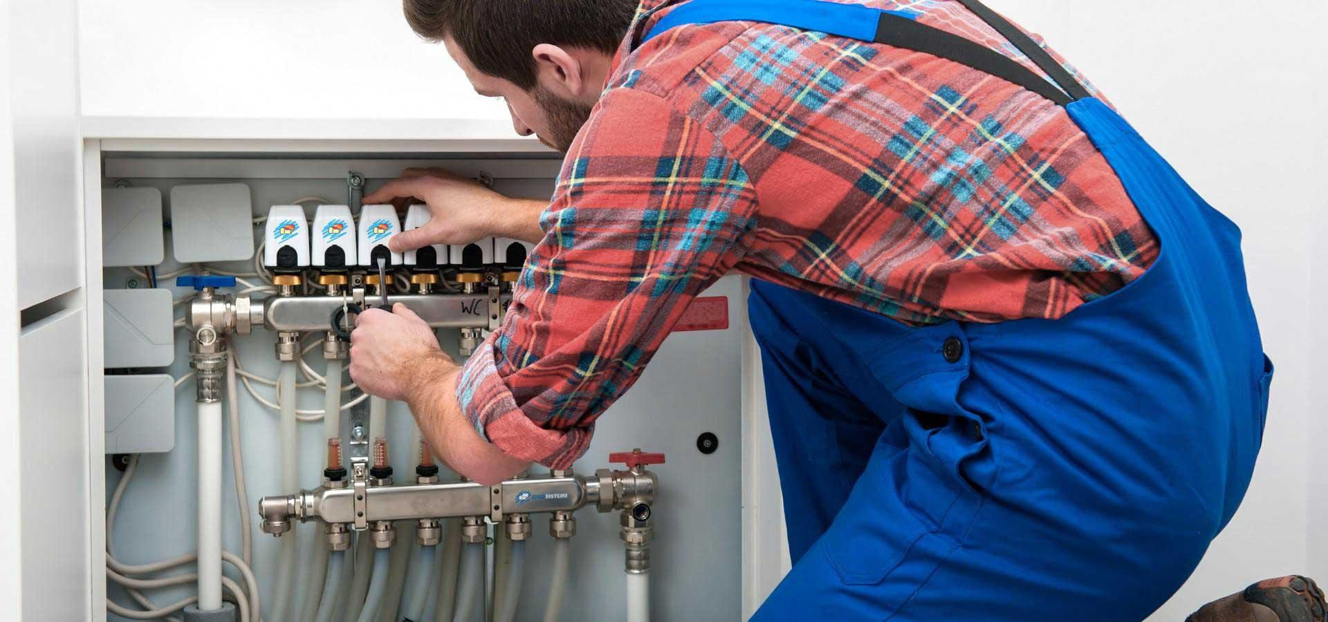 installatore idraulico